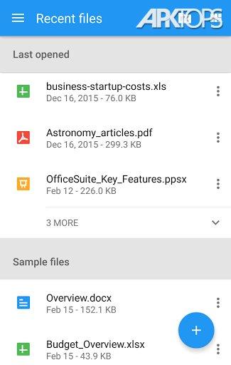 OfficeSuite + PDF Editor Premium v9.9.15153 دانلود آفیس فارسی
