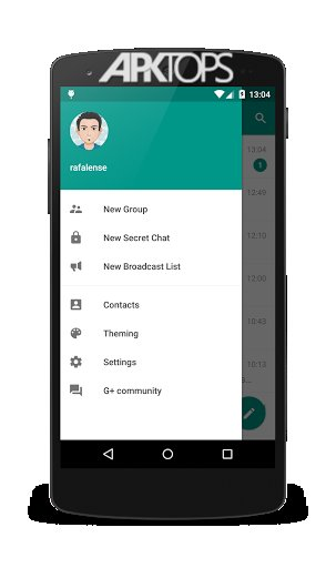 Plus Messenger Telegram v5.7.1.4 دانلود پلاس مسنجر تلگرام اندروید