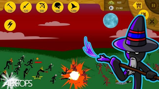 Stick War Legacy v1.11.68 دانلود بازی جنگ استیک: میراث + مود اندروید