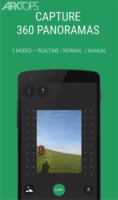 Panorama 360 Panoramic Camera v5.3.3 Full برنامه عکاسی 360 درجه اندروید