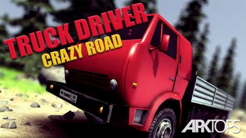Truck Driver crazy road_cover