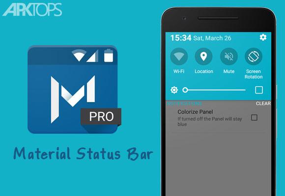 Material-Status-Bar