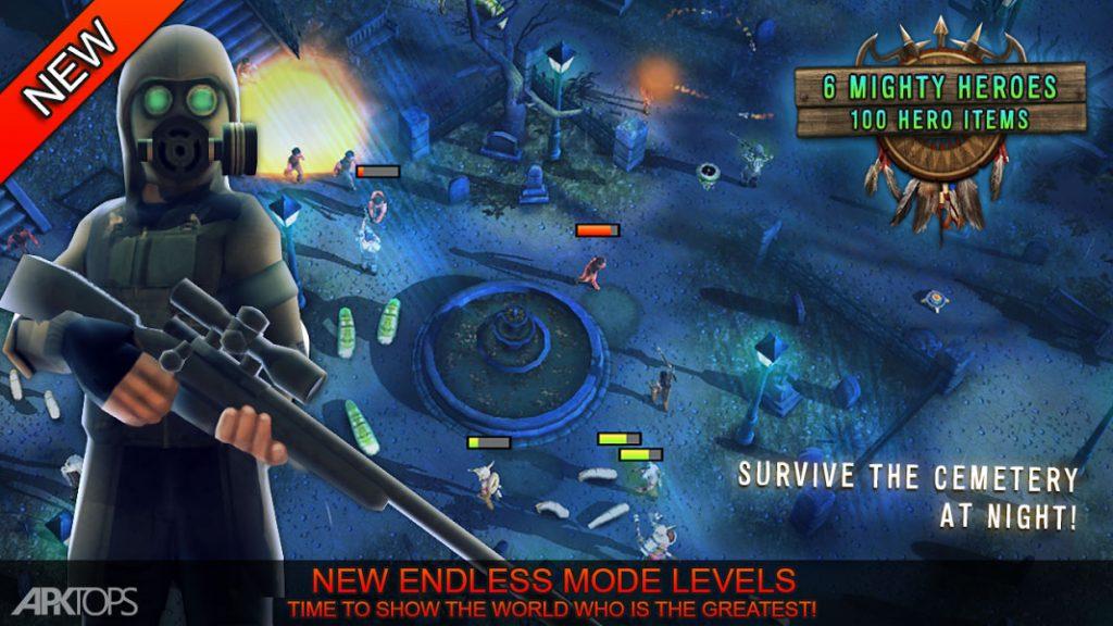 Last Hope TD v3.52 دانلود بازی اخرین امید برای اندروید + مود