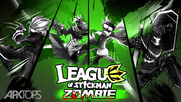دانلود بازی League of Stickman Zombie