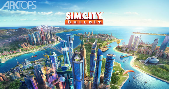SimCity-BuildIt بازی سیم سیتی