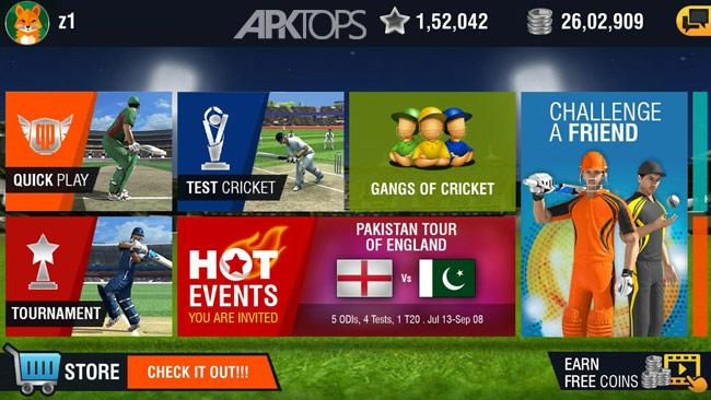 World Cricket Championship 2 v2.8.5 دانلود بازی مسابقات جهانی کریکت