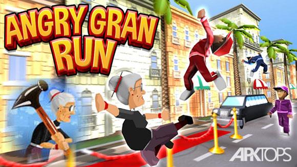 دانلود بازی Angry Gran Run - Running Game