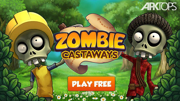 دانلود بازی Zombie Castaways