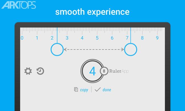 Ruler App v2.1.4 Unlocked دانلود برنامه خط کش برای گوشی های اندروید