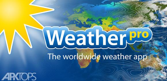 WeatherPro Premium v4.8.8 دانلود برنامه هواشناسی برای اندروید