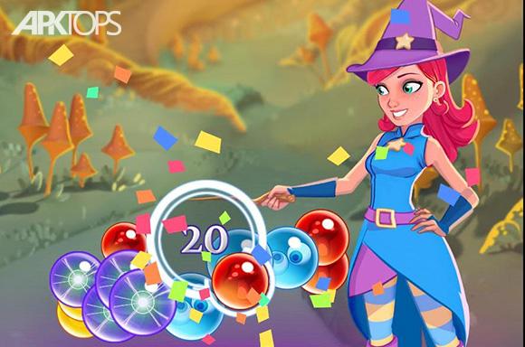 دانلود بازی Bubble Witch 3 Saga