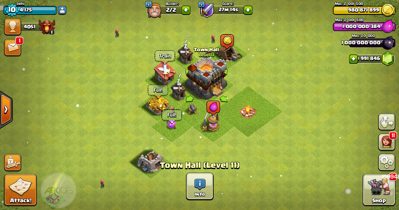 Clash of Clans v10.322.16 دانلود کلش اف کلنز کلون مود اندروید