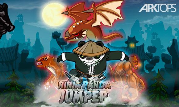 دانلود بازی Ninja Panda Jumper