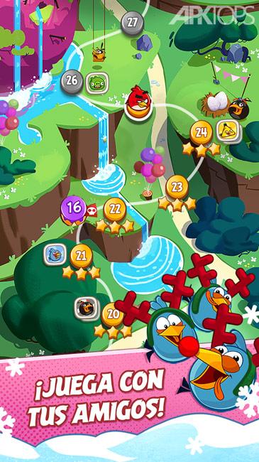 Angry Birds Blast v1.8.4 دانلود بازی پرندگان خشمگین انفجار + مود