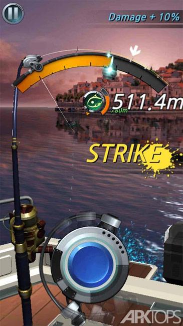 Fishing Hook v2.2.4 دانلود بازی قلاب ماهیگیری برای اندروید