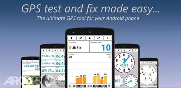 GPS Test Plus Navigation دانلود برنامه جی پی اس