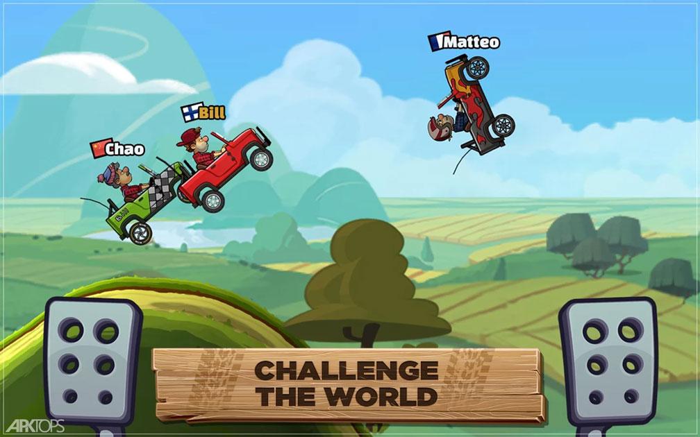 Hill Climb Racing 2 v1.24.2 دانلود بازی مسابقات تپه نوردی 2