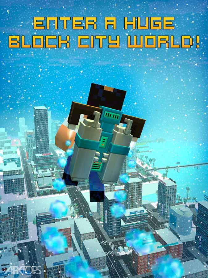 Block City Wars + skins export v7.0.4 دانلود بازی شهر پیکسلی برای اندروید