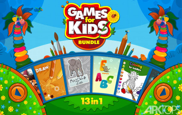 دانلود Games for Kids Bundle 13 in 1