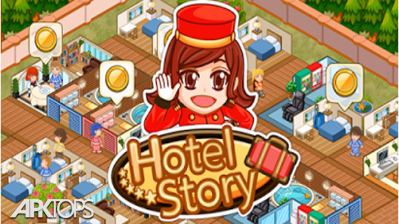 دانلود Hotel Story: Resort Simulation