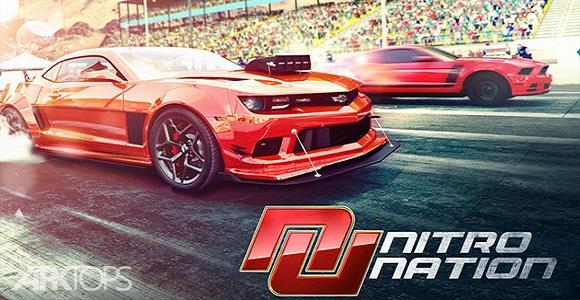 Nitro Nation Online بازی مسابقه ماشین آنلاین برای اندروید