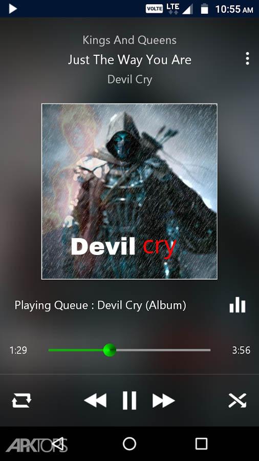 PowerAudio Pro Music Player v4.9.4 دانلود موزیک پلیر پاور آئودیو