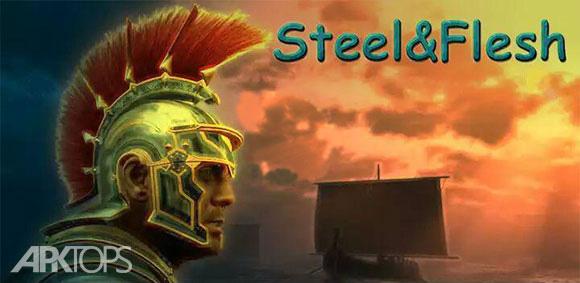 Steel And Flesh بازی جذاب و اکشن قرون وسطی اندروید