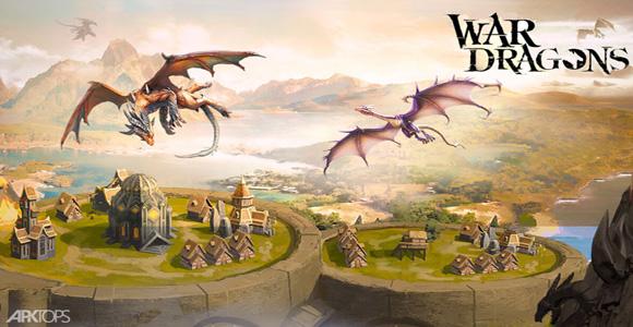 War Dragons بازی استراتژیک نبرد اژدها اندروید