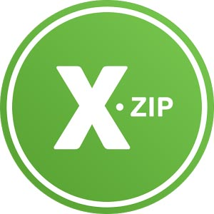 XZip logo