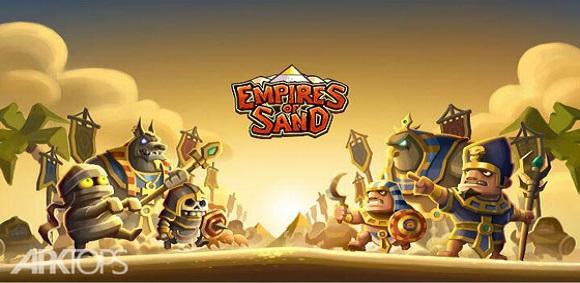Empires of Sand TD بازی استراتژیک امپراتوری شن و ماسه اندروید