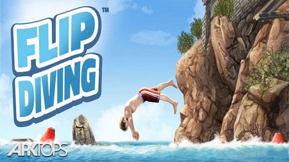 Flip Diving v2.7.0 دانلود بازی شیرجه جسورانه برای اندروید
