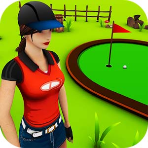 Mini Golf Game 3D logo