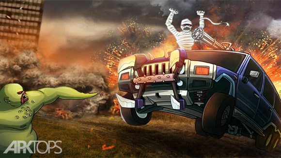 دانلود Monster Car Hill Racer