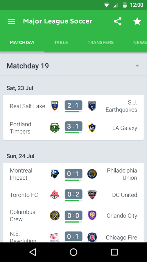 Onefootball Live Soccer Scores v11.6.1.384  دانلود اخبار و نتایج زنده فوتبال