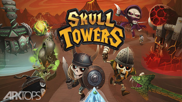 دانلود Skull Towers - Castle Defense