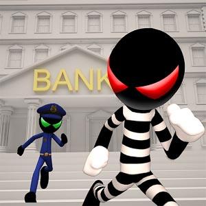 Stickman Bank Robbery Escape logo