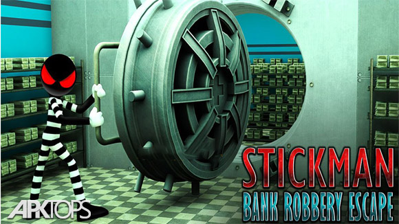 دانلود Stickman Bank Robbery Escape