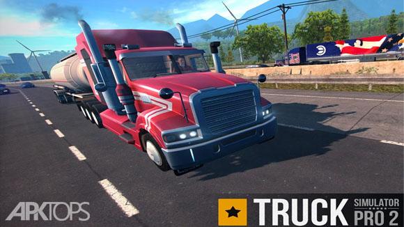 دانلود Truck Simulator PRO 2 بازی شبیه سازی تریلی 2