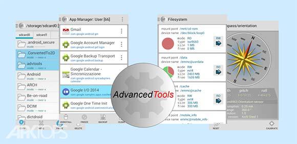 Advanced Tools Pro v1.99.1 دانلود مجموعه ابزارهای حرفه ای