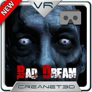 Bad Dream VR Cardboard Horror logo