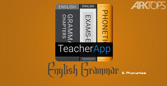 دانلود برنامه گرامر و فونوتیک انگلیسی برای اندروید