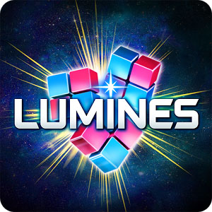 LUMINES PUZZLE AND MUSIC logo