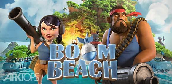 Boom Beach v34.151 دانلود نسخه جدید بازی استراتژیک بوم بیچ