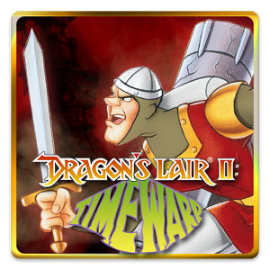 Dragon's Lair 2 Time Warp logo