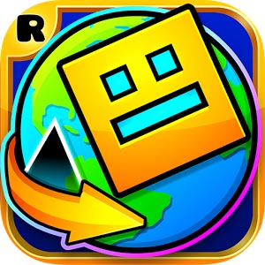 Geometry Dash World logo