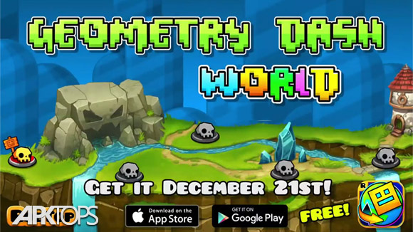 دانلود Geometry Dash World