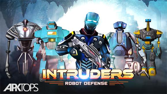 دانلود INTRUDERS: Robot Defense