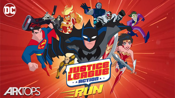 دانلود Justice League Action Run