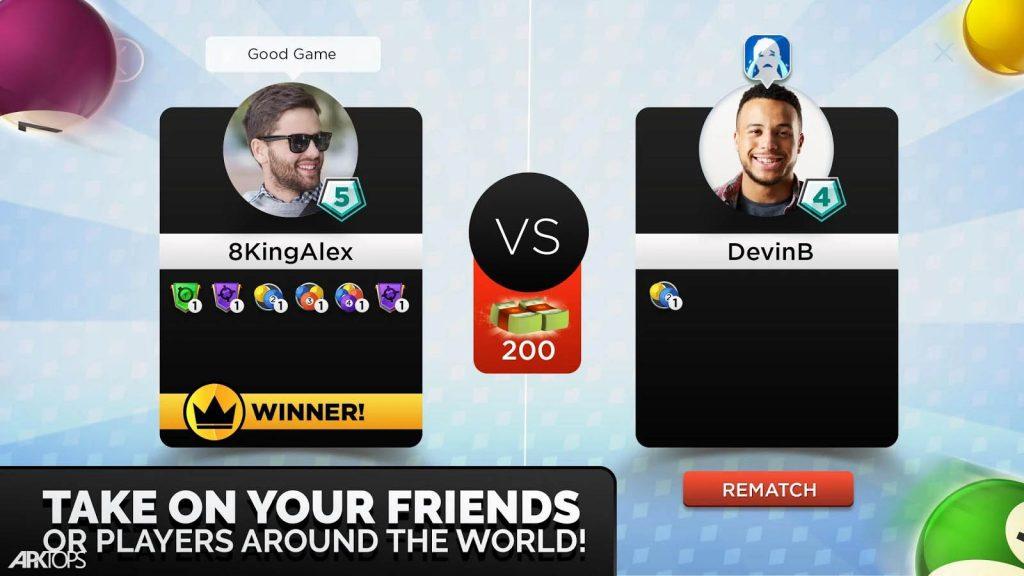 Kings Of Pool Online 8 Ball V1 20 5 دانلود بازی پادشاه