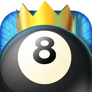Kings of Pool - Online 8 Ball logo